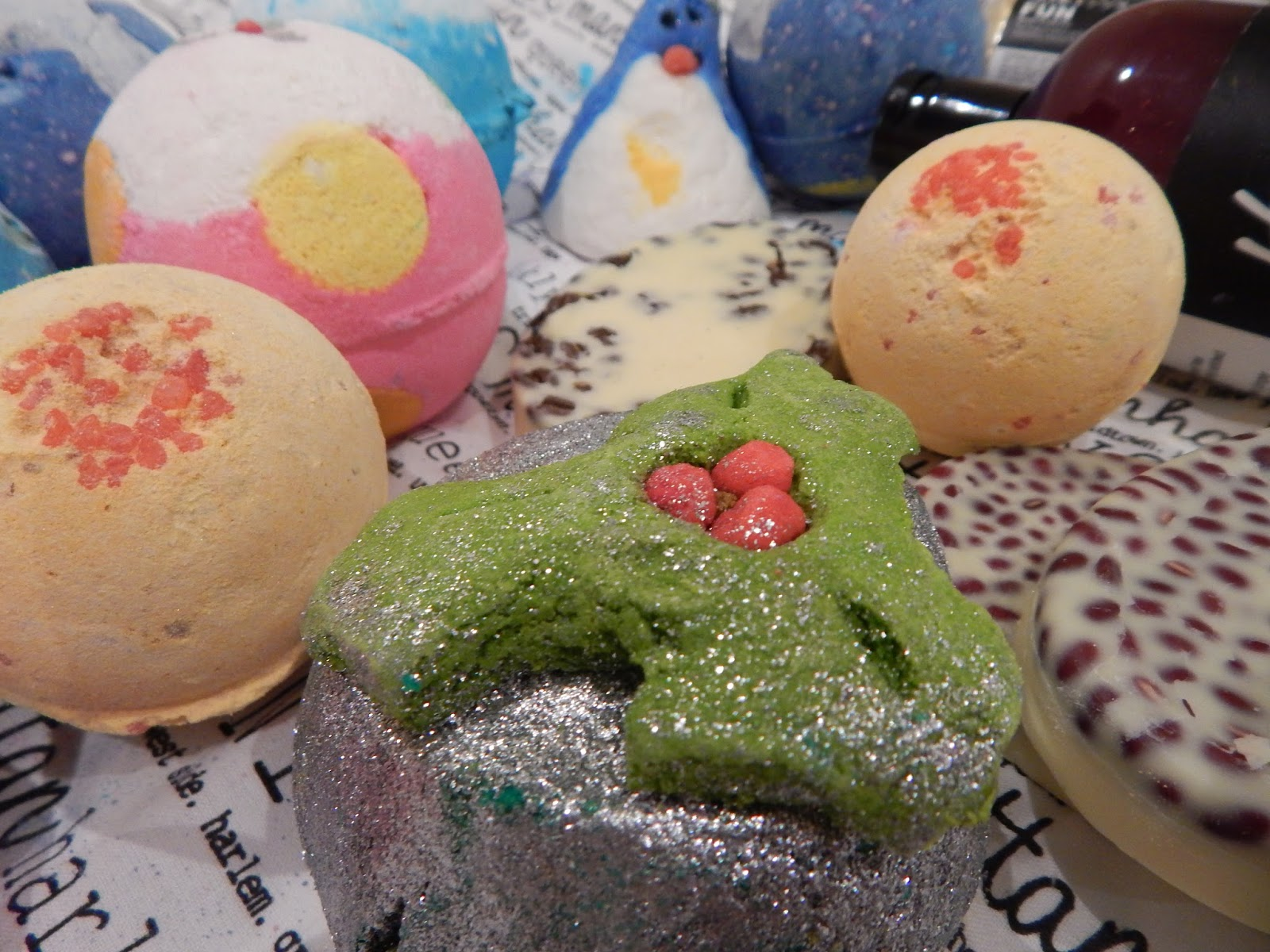 Christmas Lush products 2014