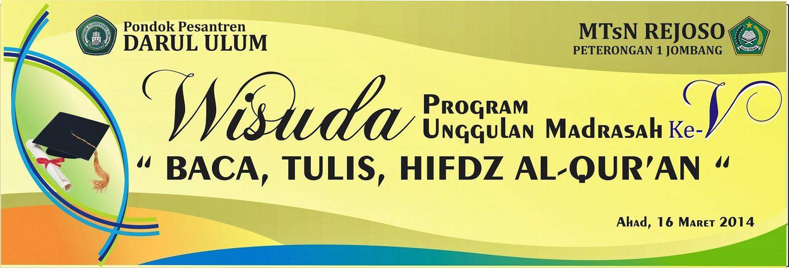 Design banner wisuda - Banner Wisuda