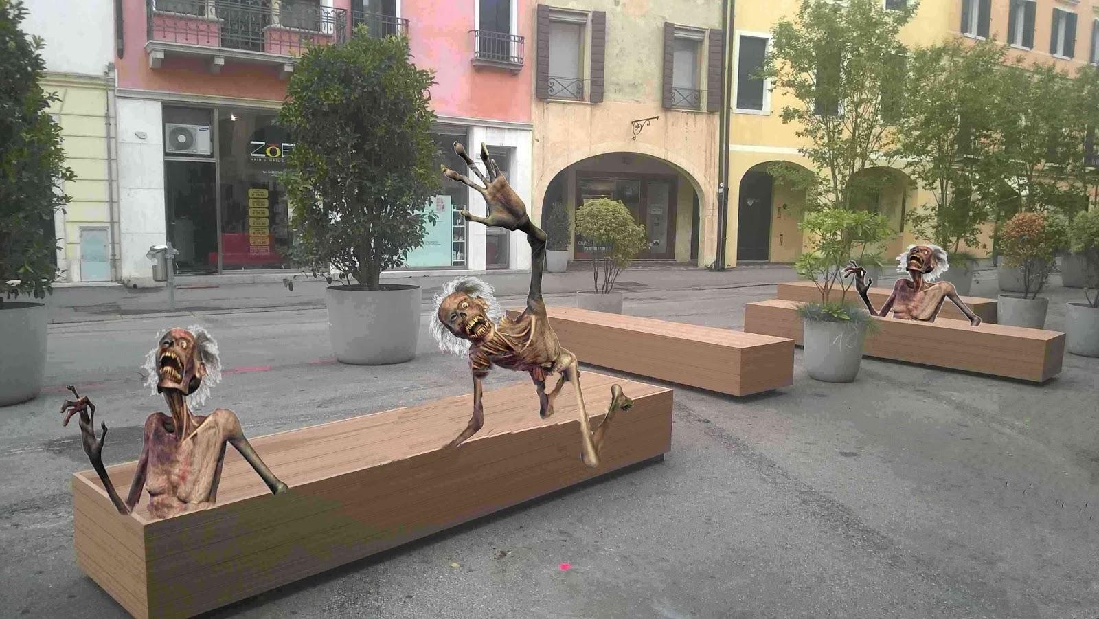 Treviso sos non aprite quelle panchine for Arredo urbano panchine