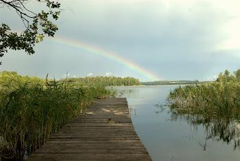 Mazury - jezioro Orzysz
