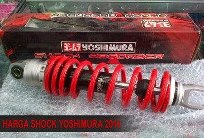 Rincian Harga Shock Motor Yoshimura Racing Terbaru 2015