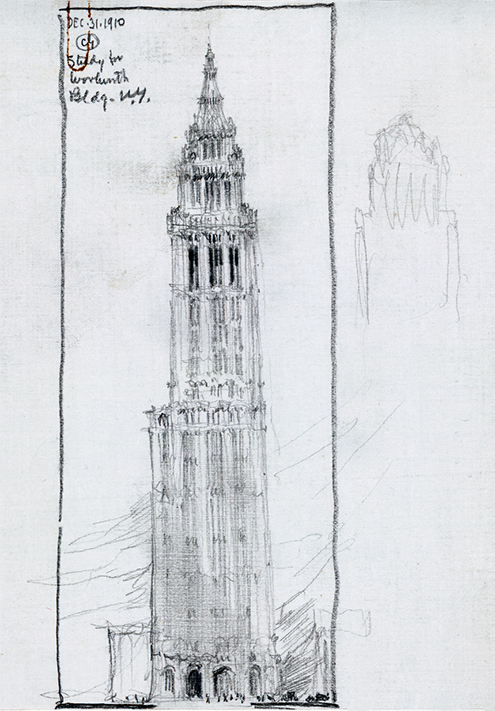 Woolworth Building New York City USA 1910  1913  Jos Miguel