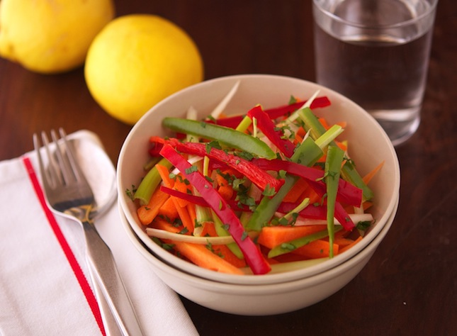 Hot And Sour Shredded Salad