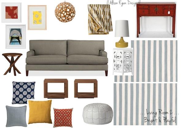 Living Room 1 // Crate U0026 Barrel Tulyn Rug