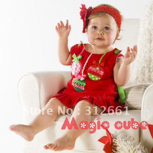 Stylly dress pix christmas dress baby girls pix