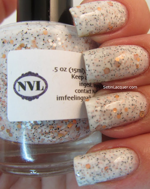 "NailVenturous ""Granite"" swatch"