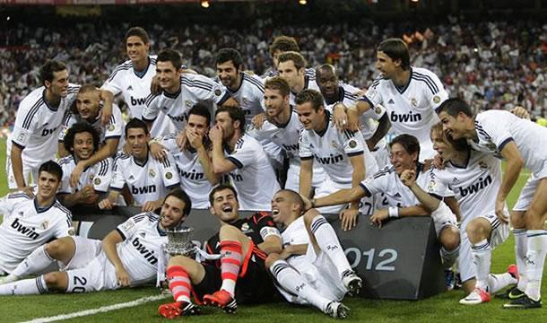 Históricos ingresos reportó el Real Madrid 2011-12