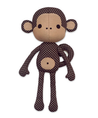 monkey doll pattern
