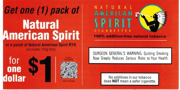 Different types Marlboro cigarettes