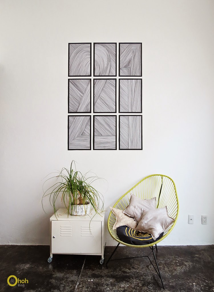 DIY Easy Wall Art