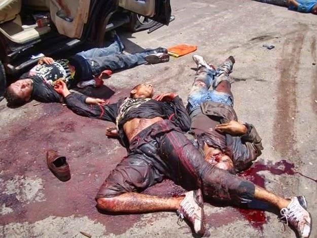 Tentativa frustrada de assalto ao Banco do Bradesco em Santa Luzia no Maranhão acaba com bandidos mortos pela polícia.