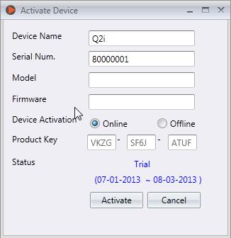 fingertec activation key