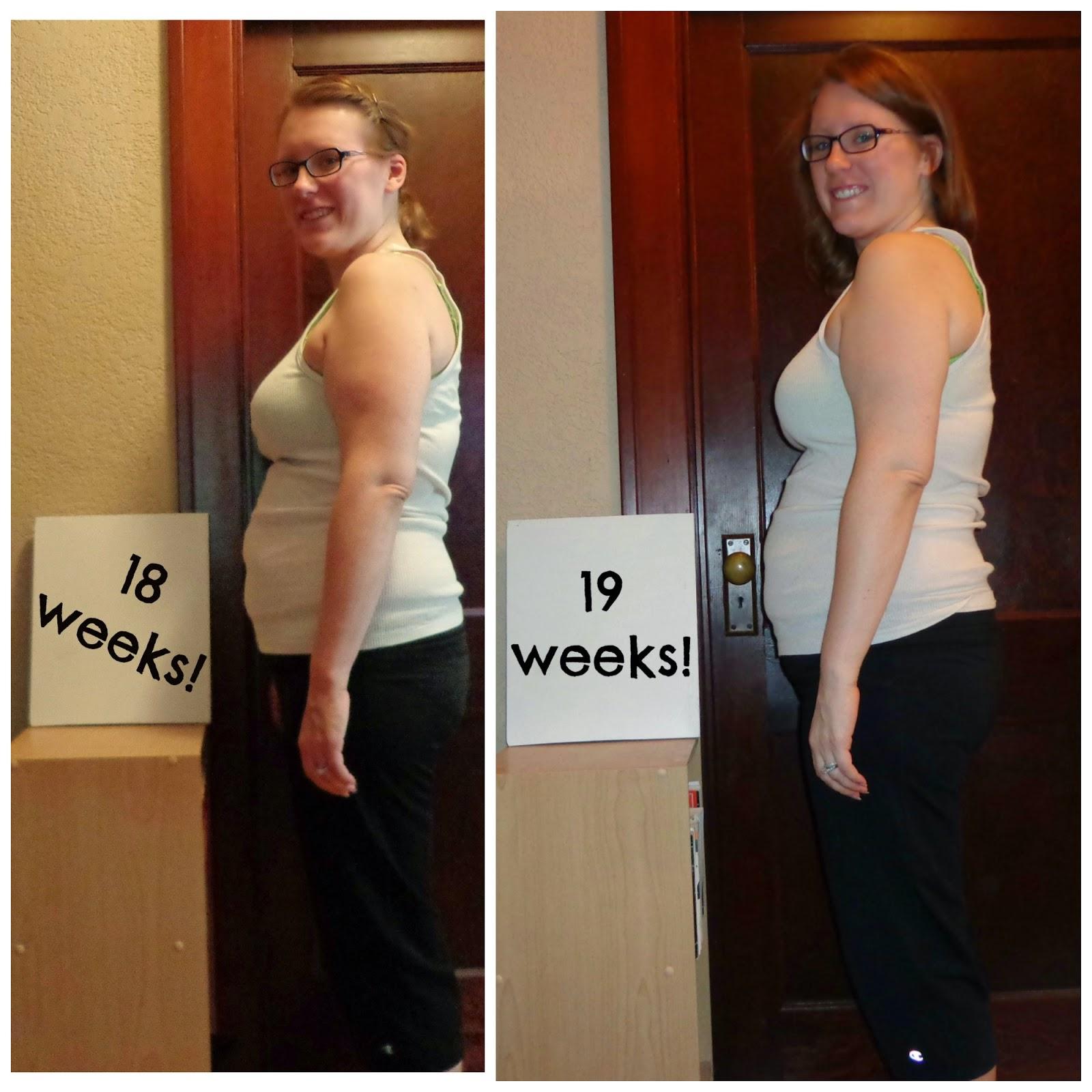 Week 19 Baby Bump