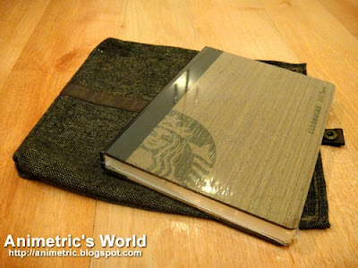 2012 Starbucks Planner in Spruce