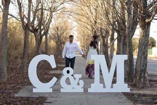 Zeta petra un dolci momenti para tu boda o sarao - Decorar letras de corcho blanco ...