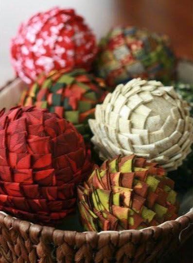 como hacer esferas decorativas con telas portal de