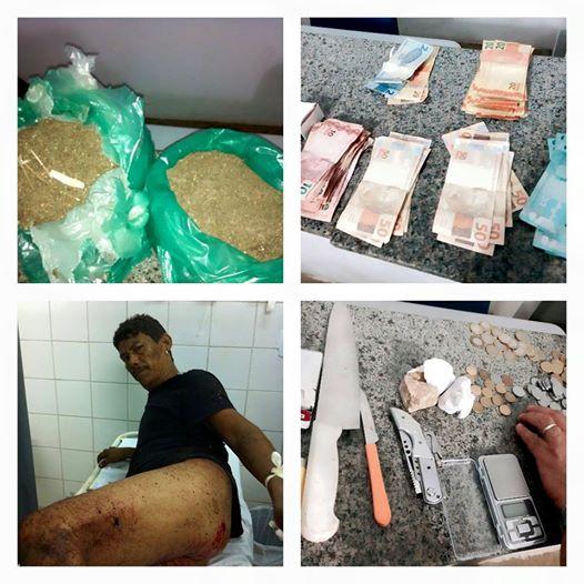 Itapecuru-Mirim: Traficante leva tiro nas nádegas