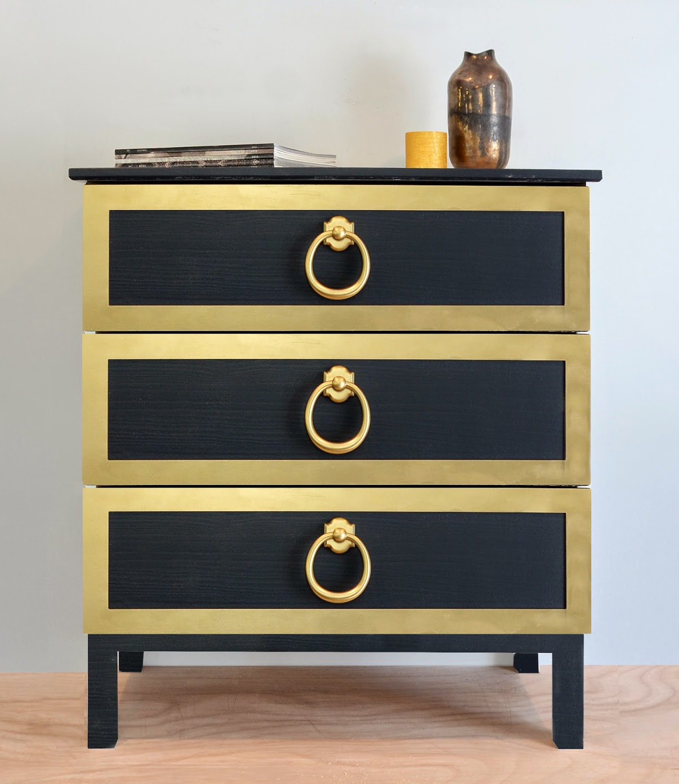 IKEA - ASKVOLL, 3-drawer chest, , Smooth running drawers with pull ...
