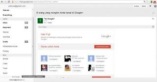 Cara Membuka Gmail Tanpa Koneksi Internet
