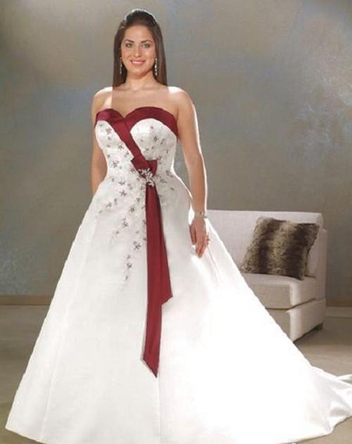 Ivory And Burgundy Wedding Dresses 61