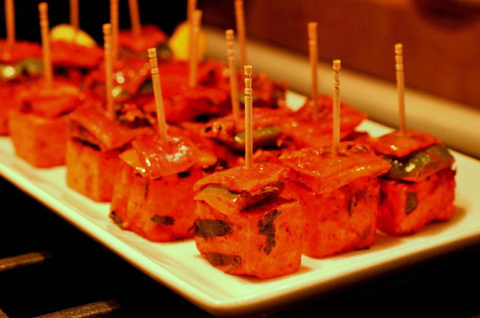 Spice Infused: Grilled Tandoori Tofu