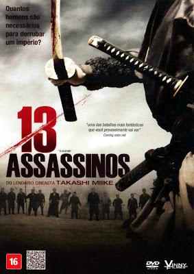 13 Assassinos - DVDRip Dual Áudio