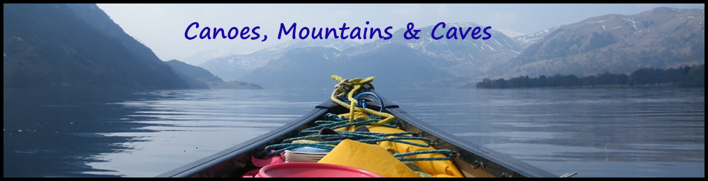 Canoes, Mountains & Caves