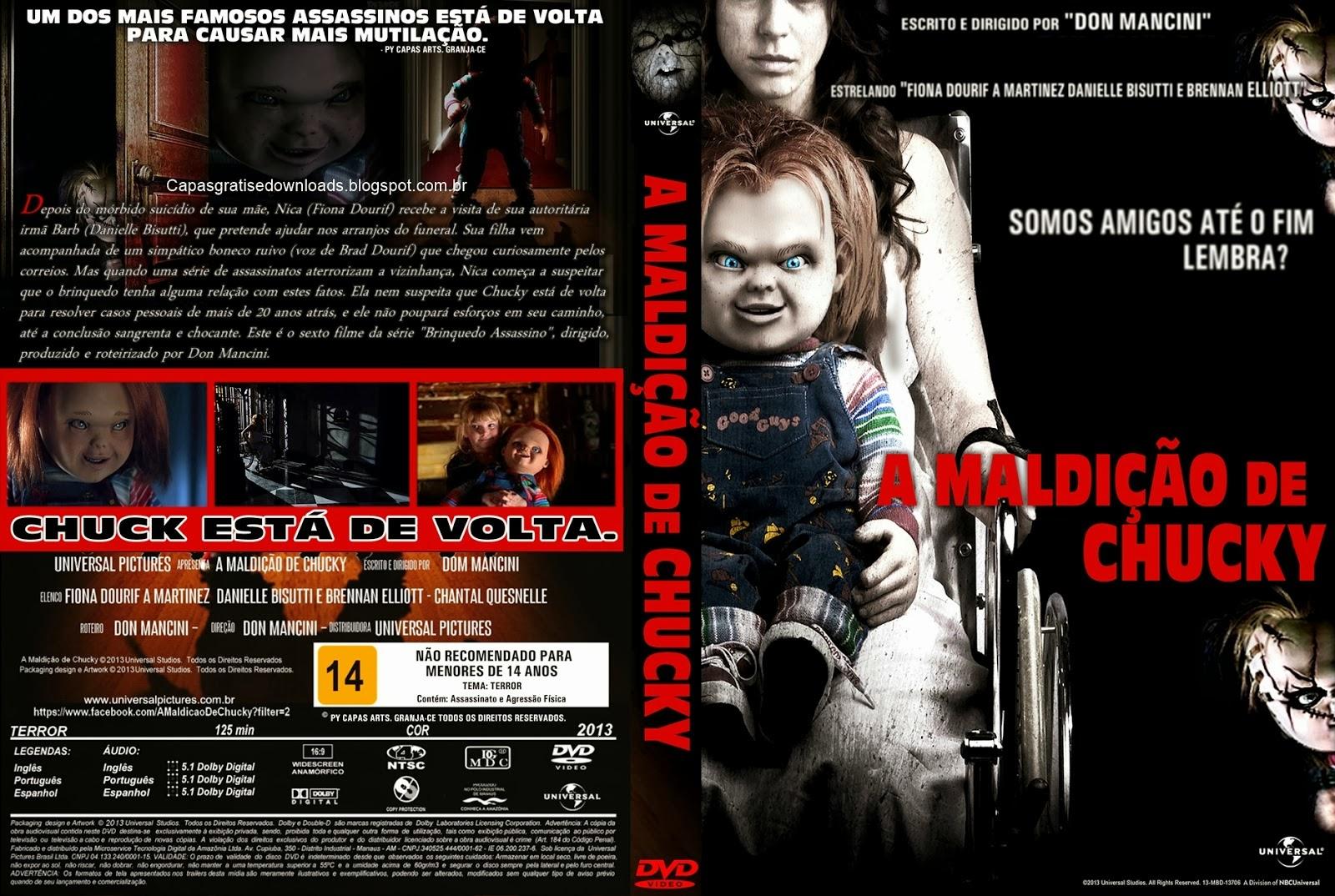 A Maldição de Chucky DVD Capa