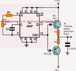 Make this 3 Phase Inverter Circuit | Homemade Circuit Projects