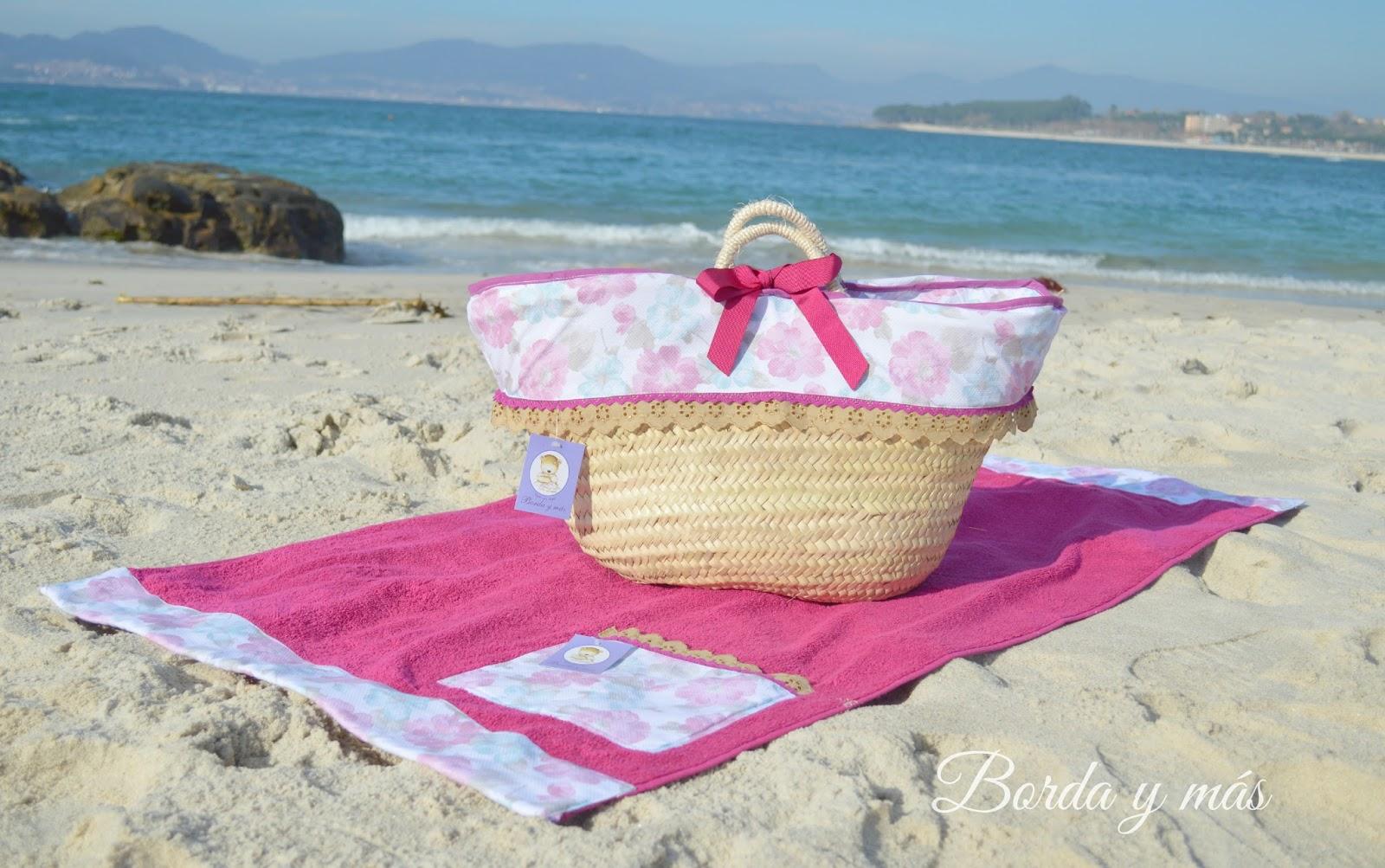Capazos personalizados para playa y piscina