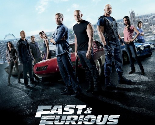 Wallpaper film Fast and Furious 7
