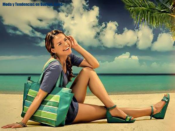 Carteras, bolsos y sandalias 2014. Valeria Nicali verano 201. Moda verano 2014.