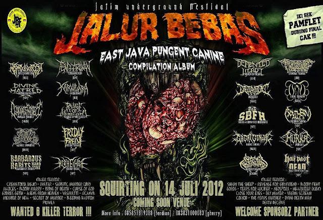 Jawa Timur jadi JALUR BEBAS Underground Festival