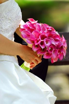 Pink Calla Lily Wedding Bouquet | Unique Wedding Ideas