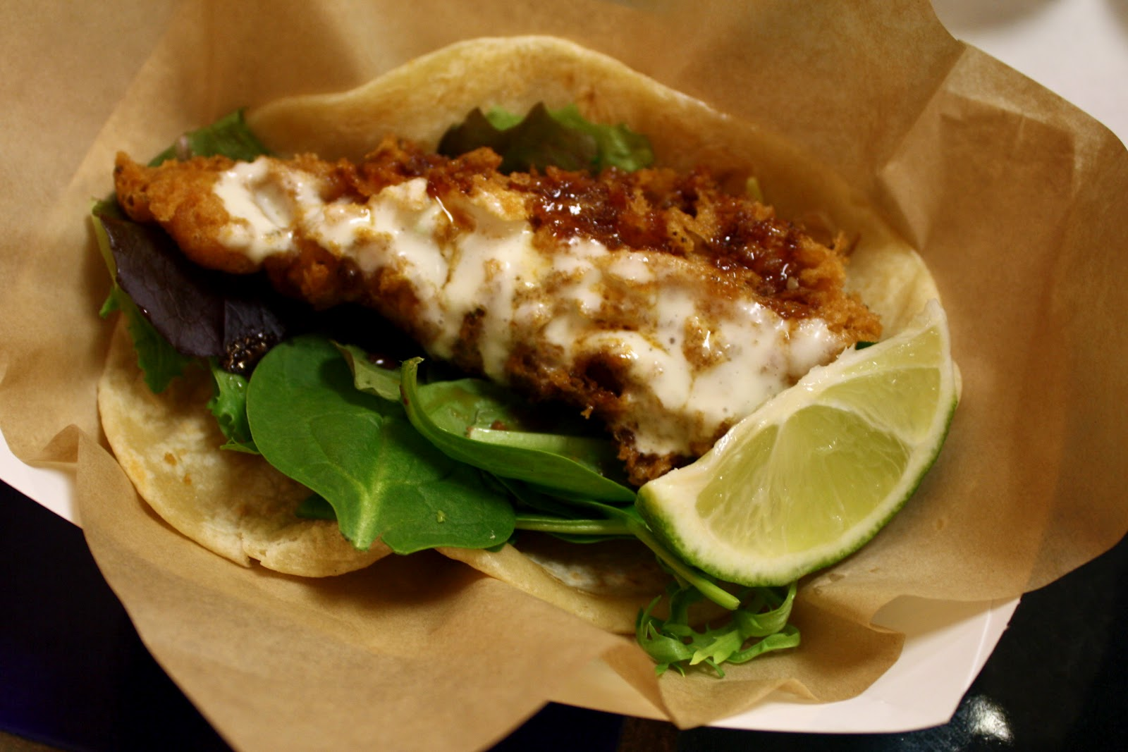 An immovable feast rubio 39 s sesame soy fish taco for Rubios fish tacos