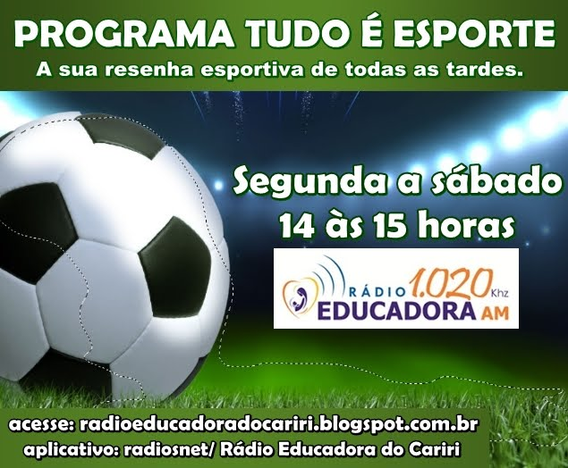 Programa tudo é esporte