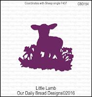 Our Daily Bread designs Custom Little Lamb Die