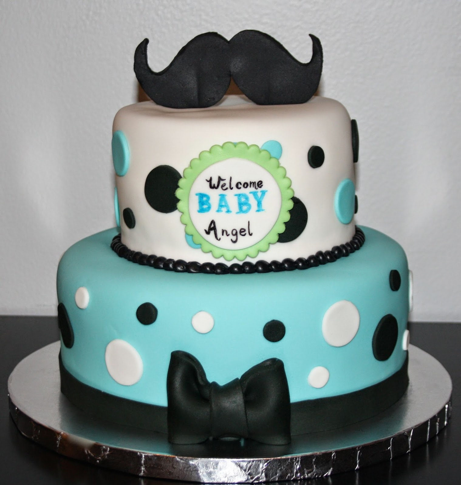 jacqueline 39 s sweet shop mustache baby shower cake