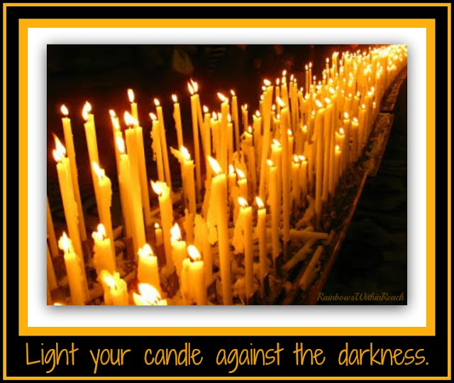 photo of: Light Your Candle Against the Darkness: Response to Tragedy at PreK+K Sharing