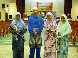 Kenangan Bersama Peserta Kuiz Ilmu Wahyu SMKBB 2012