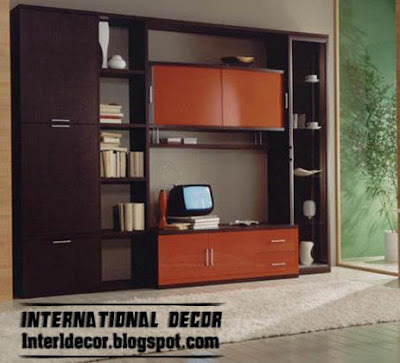 Modern TV Wall Units  Shelves And Cabi S Design  TV Wall Units