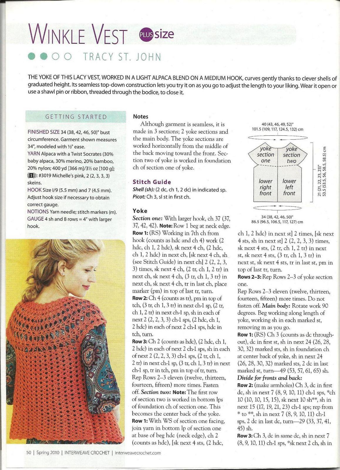 Excepcional Shell Bufanda Patrón De Crochet Composición - Ideas de ...