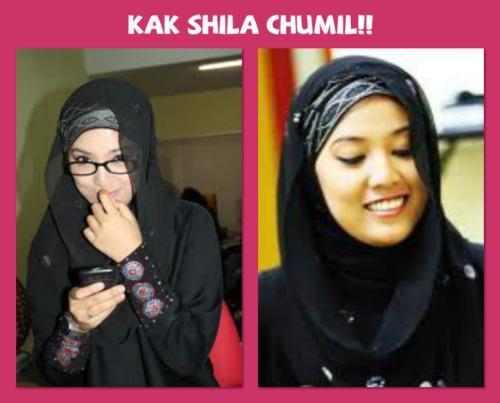 Gambar Shila Amzah Semakin Cantik Bertudung