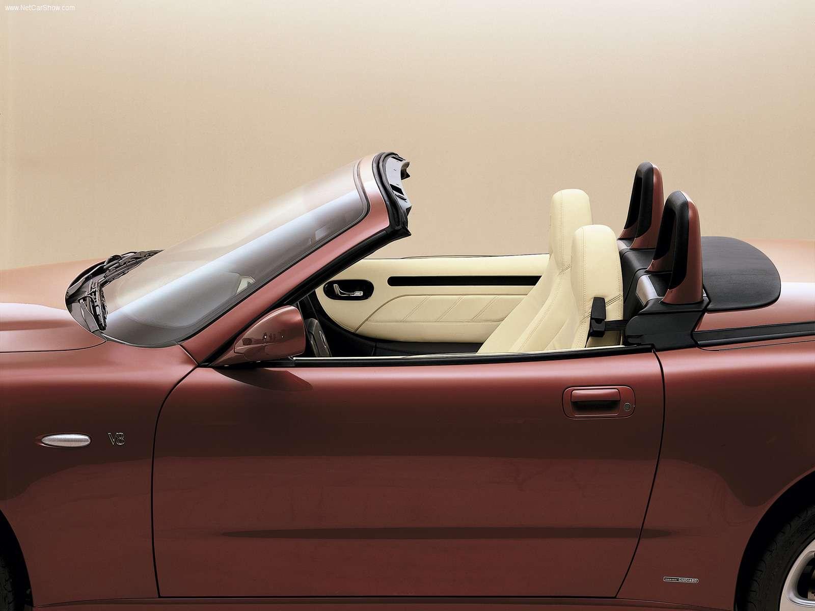 Hình ảnh siêu xe Maserati Spyder 2003 & nội ngoại thất