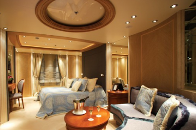 Top most elegant beds and bedrooms in the world elegant blue and brown bedroom - The most beautiful bedroom in the world ...