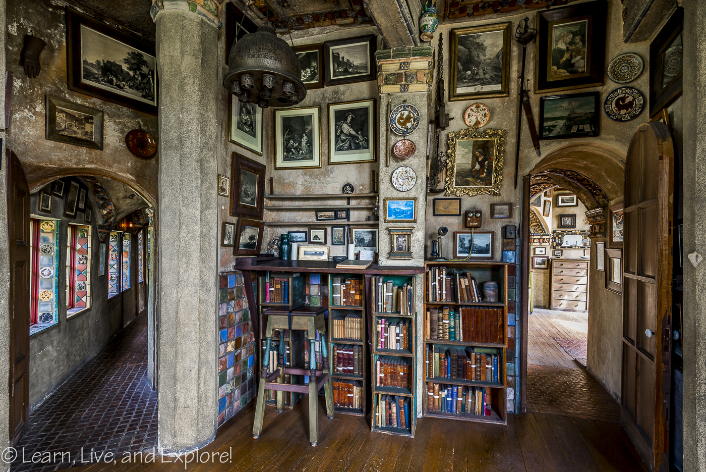 historic and wacky fonthill castle ~ learn, live, and explore!