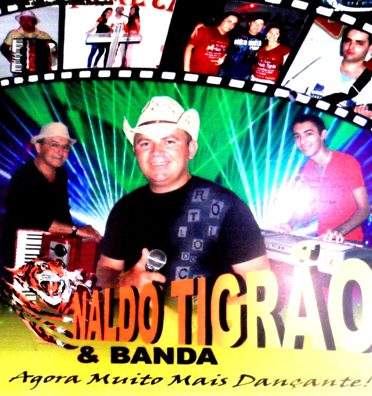 Naldo Tigrão & Banda 2013 Forró & Seresta