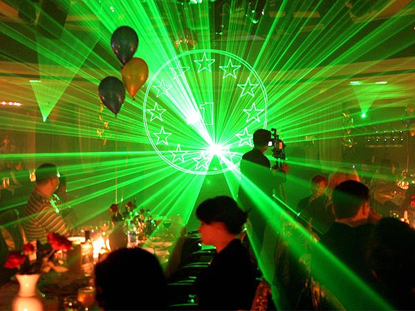лазерное шоу - Артисты и шоу - Портфолио - Art Sfera - организация праздников в Киеве.