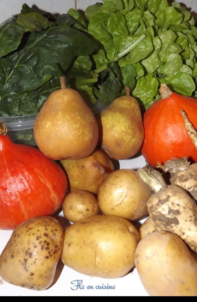Flo en cuisine pour ou contre les paniers de l gumes - Fruit ou legume en y ...