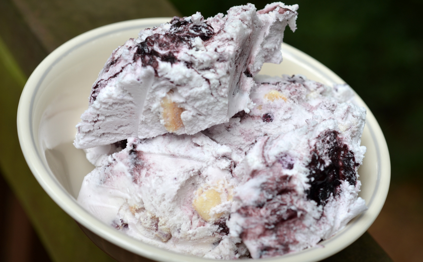 Blueberry Cheesecake Ice Cream Pie Recipe — Dishmaps